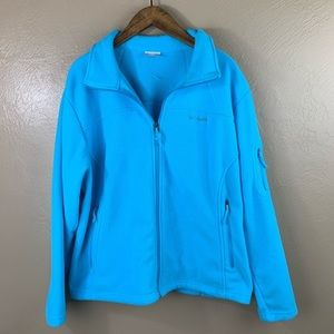Columbia Blue Fleece ZIP Up